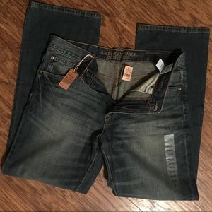 American Eagle Boot Cut Jeans   NWT   Size 34 x 32